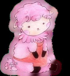 Animal Crossing Pink Sheep by Aiko-Hirocho
