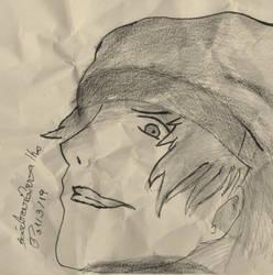 FA: Persona 3 Shinjiro by Aiko-Hirocho