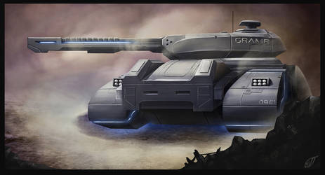 Hover Tank Gramr