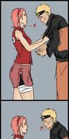Narusaku: Just hold me