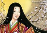 Heian Lady aceo