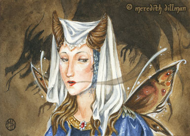 Deception ACEO by MeredithDillman