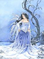 Book art - Snow Maiden by MeredithDillman