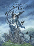Book art - Throne of Ravens