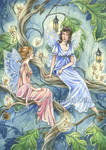 Commission - Fairy Gossip