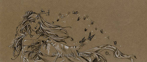 Fae drawing 3 by MeredithDillman