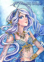 Mermaid Dancer ACEO by MeredithDillman