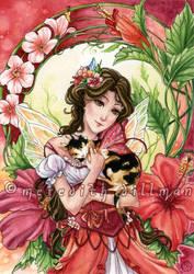 Hibiscus Fairy by MeredithDillman