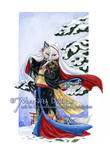 Yuki - Winter Kitsune