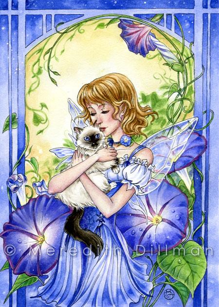 Morning Glory Fairy by MeredithDillman