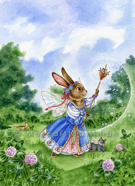 Clover Princess by MeredithDillman
