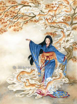 Kitsune Dance by MeredithDillman