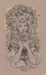 Austeja the Bee Goddess