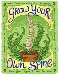 Grow Your Own Spine
