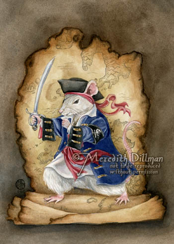 A Pi-Rat by MeredithDillman