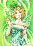 Absinthe ACEO