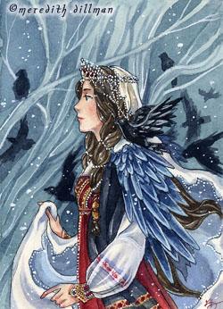 The Crow Bride by MeredithDillman