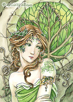 Ivy ACEO