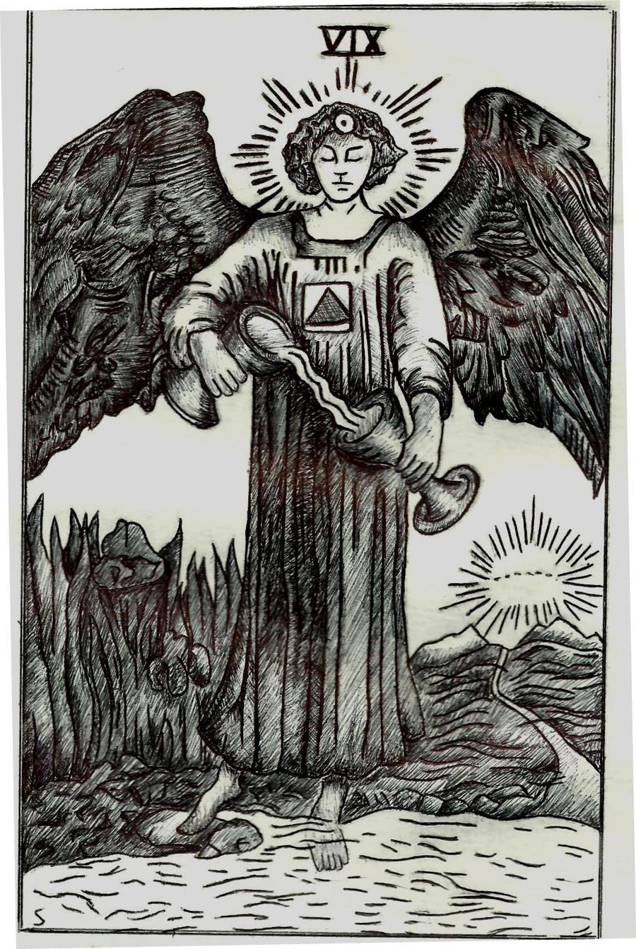 Temperance Tarot Card by GypsyMaid on DeviantArt