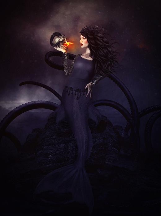 Evil Mermaid