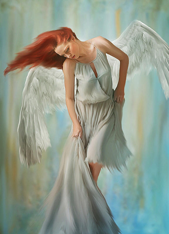 Broken Angel by alkab-art