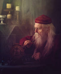 The Clockmaker by alkab-art