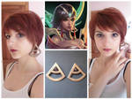 Karma' s earrings - Concept Cosplay W.I.P.