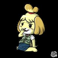 Just Isabelle by DZ-Aladan