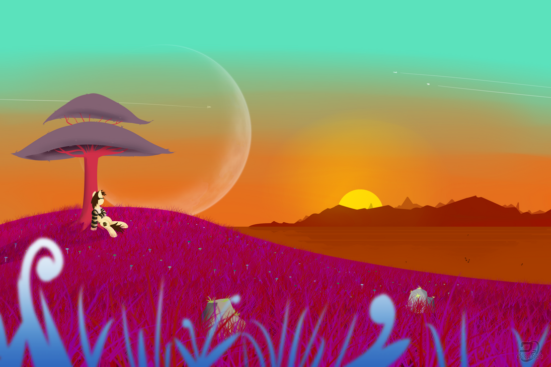 [CONTEST ENTRY] - Another Sunset by DZ-Aladan