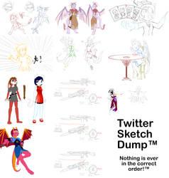 Twitter sketch dump
