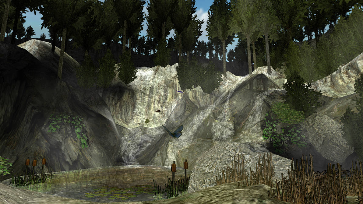 Tomb Raider Level Editor Practice room 2 by Opium-of-the-world on