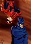 Spider-man meets Batman