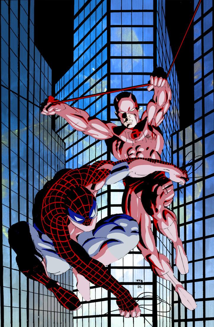 Spajdermen Daredevil_spiderman_frank_miller_2_by_shadowrenderer-d5emwm0