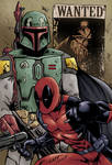 Boba Fett Deadpool Dargo colour