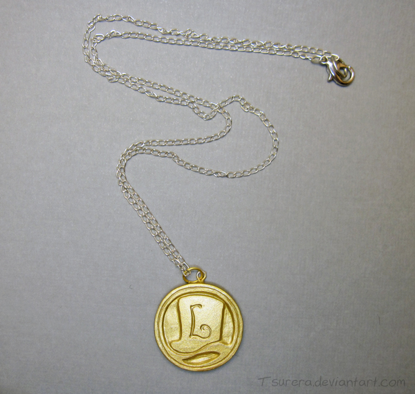 Professor Layton - Hint Coin Charm 2.0 by Tsurera