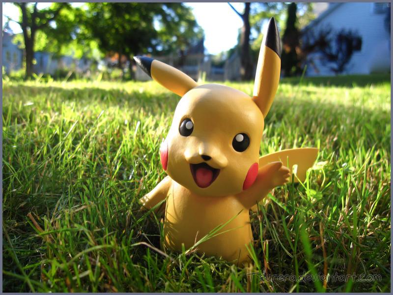 Pokemon Pikachu Sculpt- Happy Holidays~ by Tsurera