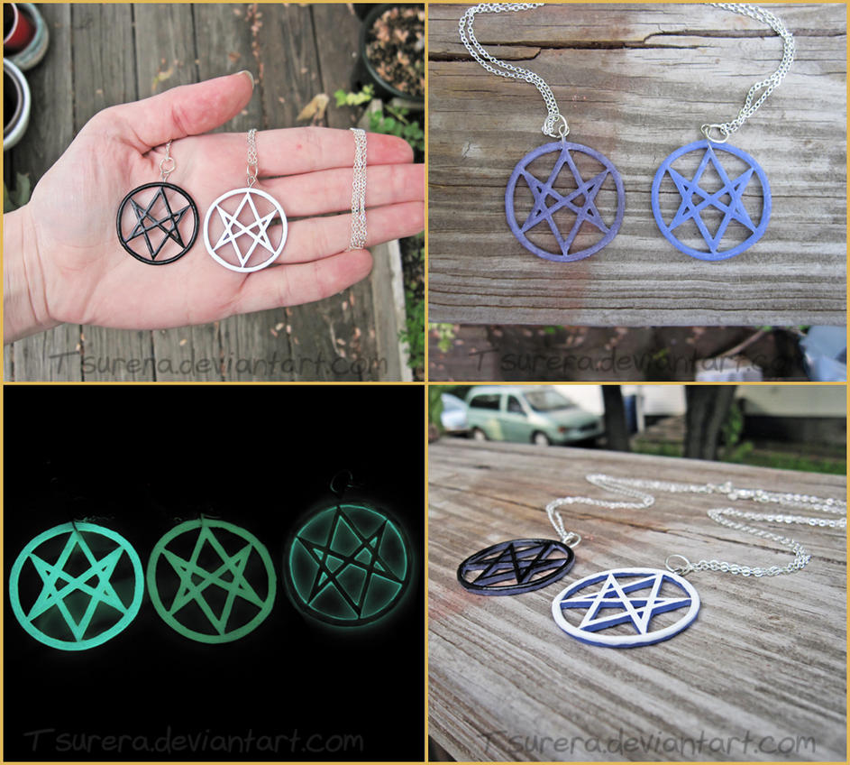 Supernatural Men of Letters - Necklace Charm by Tsurera on deviantART