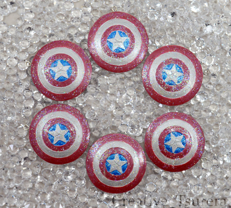 Captain America Shield Charm