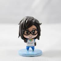 Overwatch Mini Mei Figure 01 by Tsurera