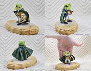 Frog Chrono Trigger Sculpture 01 (Magitek__Knight)