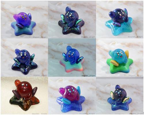 Space Kirbo Sparkle Kirby Sculpts