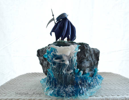 Chrono Trigger Magus and Frog Diorama Commission 1