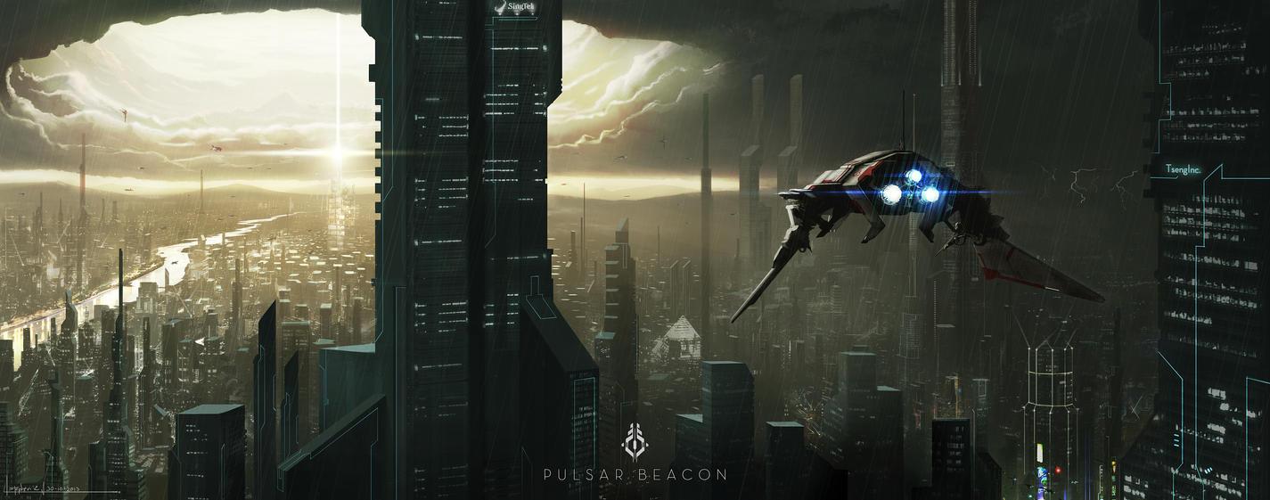 Pulsar Beacon by Alpha-Step