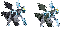 Zekrom Kyurem from BW2 by AlexisRendell