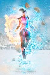 Avatar : Legend of Korra - Avatar State! by desomerphotography
