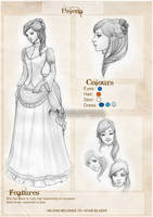 Helena Sketchpage by CristianaLeone