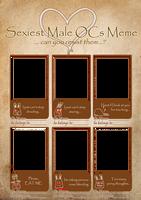 Sexiest Male OCs Meme by CristianaLeone