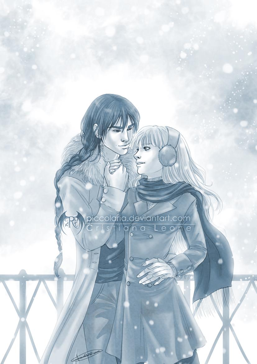 Frost and Ella by CristianaLeone