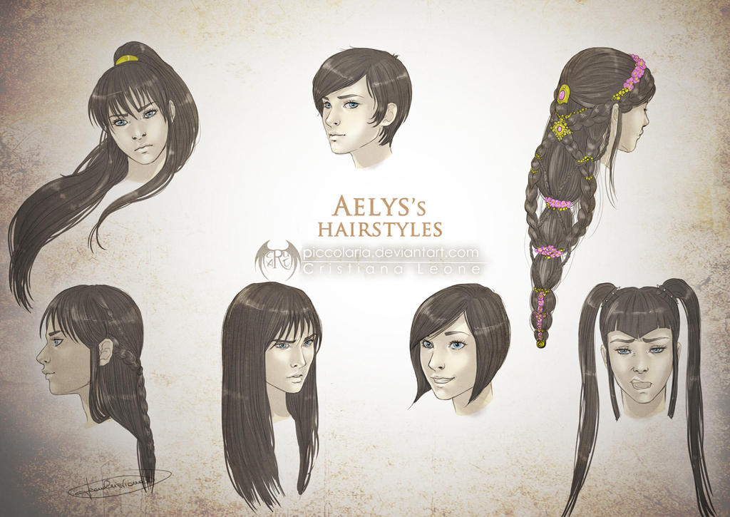 Aelys's Hairstyles by CristianaLeone