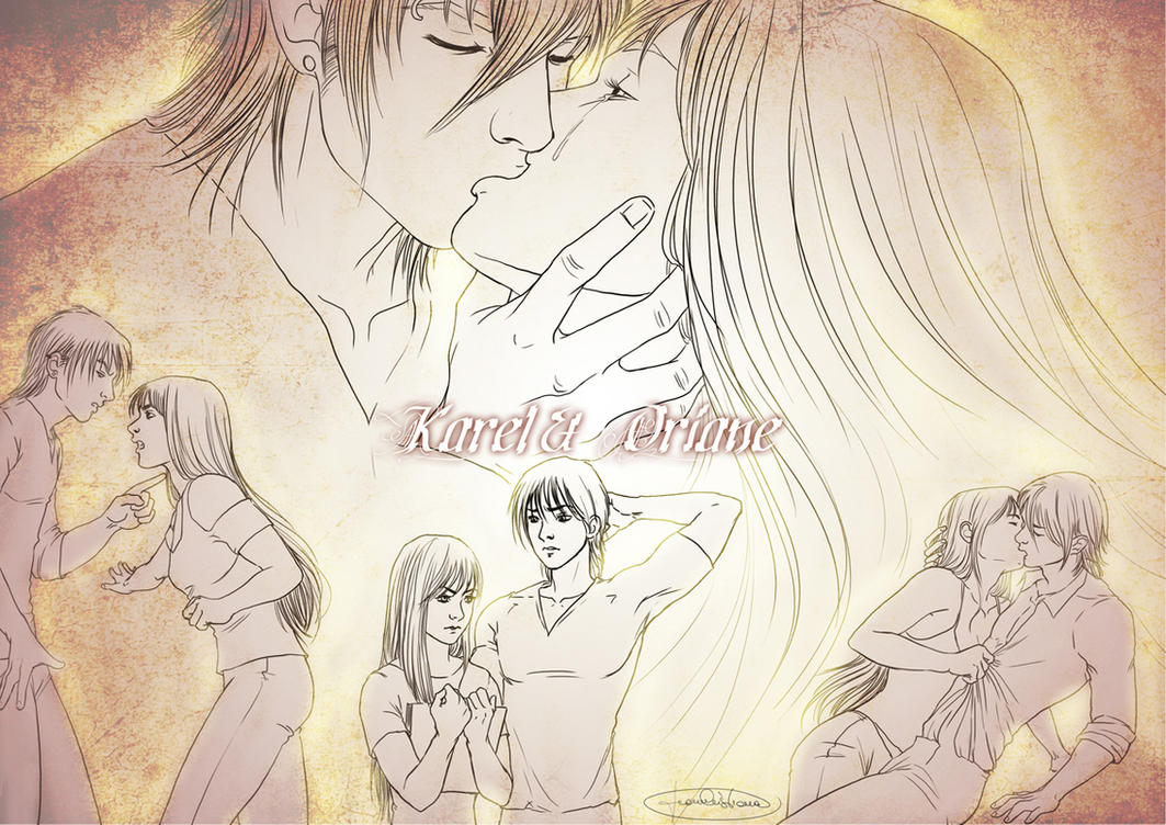 Lovesheet - Karel and Oriane by CristianaLeone